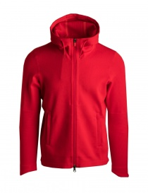 Allterrain By Descente Synchknit red jacket online