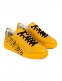 Mens shoes online: Il Centimetro Icon Classic Yellow sneakers