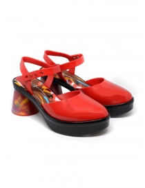 Womens shoes online: Melissa Revolution + Fiorella Gianini red sandal