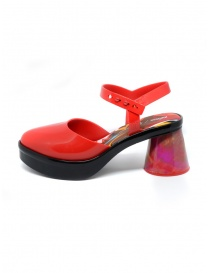 Melissa Revolution + Fiorella Gianini red sandal