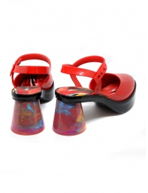 Melissa Revolution + Fiorella Gianini red sandal price