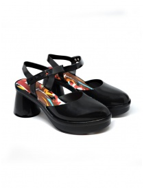 Womens shoes online: Melissa Revolution + Fiorella Gianini black sandal