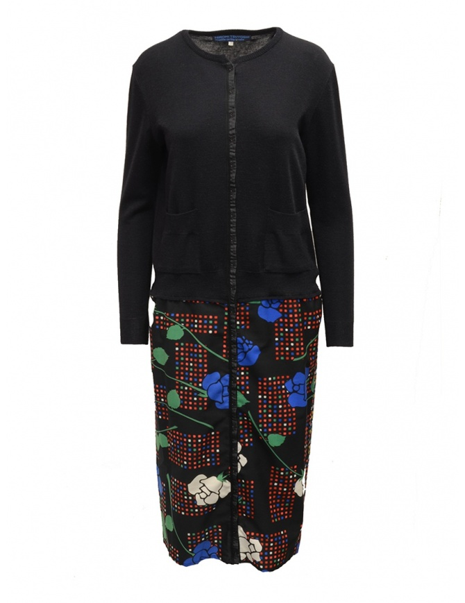 Hiromi Tsuyoshi cardigan dress RS16-010 BLK womens dresses online shopping