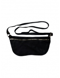 Belts online: Guidi black horse leather fanny pack
