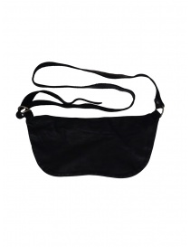 Guidi black horse leather fanny pack