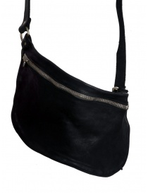 Guidi black horse leather fanny pack price