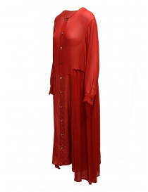 Zucca red dress with frills