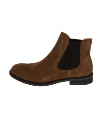 Stivaletto Selected Homme scamosciato marrone cognac