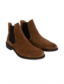 Stivaletto Selected Homme scamosciato marrone cognac online