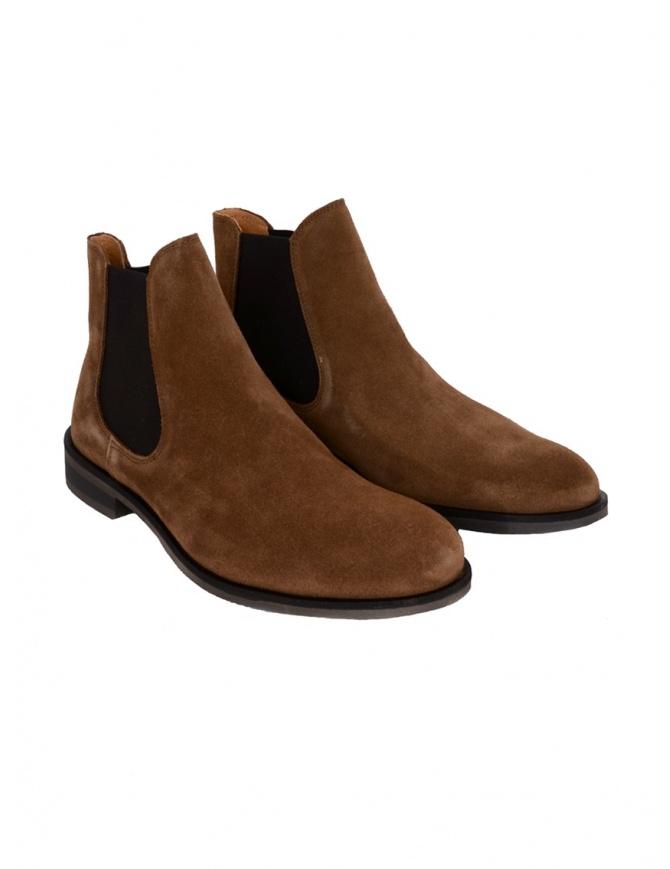 Stivaletto Selected Homme scamosciato marrone cognac 16071033 COGNAC calzature uomo online shopping