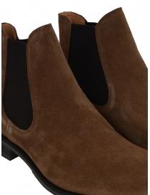 Stivaletto Selected Homme scamosciato marrone cognac calzature uomo acquista online