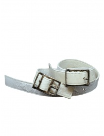 Belts online: Carol Christian Poell double white belt