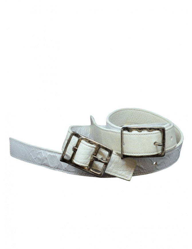 Carol Christian Poell double white belt AF/0982-IN PABER-PTC/01 belts online shopping