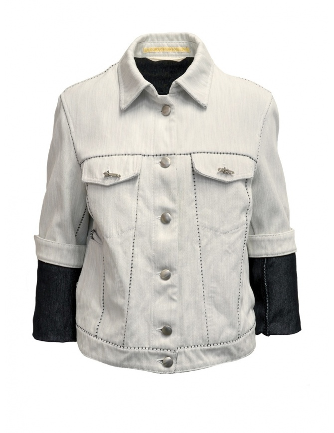 Carol Christian Poell JF/0928 jeans jacket JF/0928-IN KIT-BW/100 womens jackets online shopping