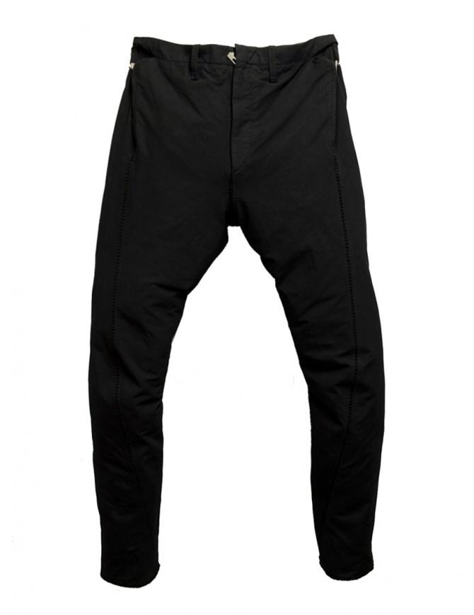 Carol Christian Poell PM/2671OD pantaloni neri PM/2671OD CORD-PTC/010 pantaloni uomo online shopping