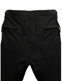 Carol Christian Poell PM/2671OD pantaloni neri pantaloni uomo acquista online