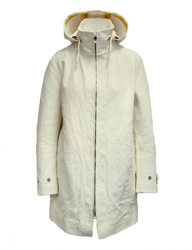 Carol Christian Poell Parka LF/0955 in white LF/0955-IN PABIS-PTC/01 womens jackets online shopping
