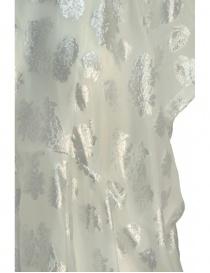 Abito Miyao bianco argento floreale prezzo