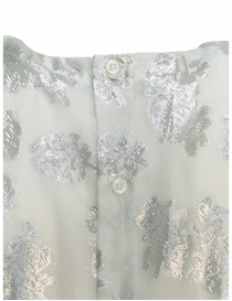 Abito Miyao bianco argento floreale abiti donna acquista online