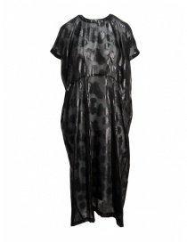 Miyao black floral long dress online