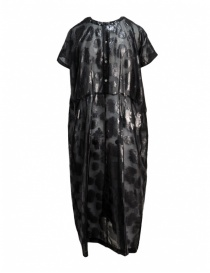 Miyao black floral long dress