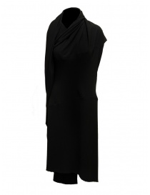 Marc Le Bihan black dress with multiple closures 2158 NERO order online