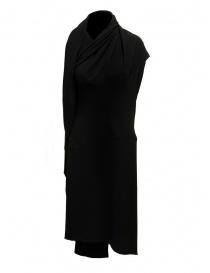 Vestito Marc Le Bihan nero con chiusure multiple online