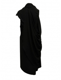 Marc Le Bihan black dress with multiple closures
