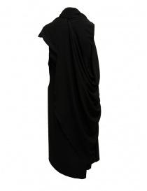 Vestito Marc Le Bihan nero con chiusure multiple