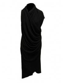 Marc Le Bihan black dress with multiple closures price