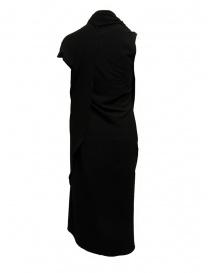 Marc Le Bihan black dress with multiple closures womens dresses buy online