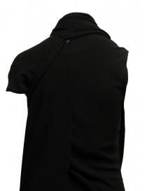 Vestito Marc Le Bihan nero con chiusure multiple acquista online prezzo