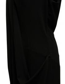 Marc Le Bihan black dress with multiple closures buy online price