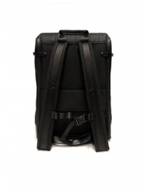 Frequent Flyer Captain M backpack in black denim price