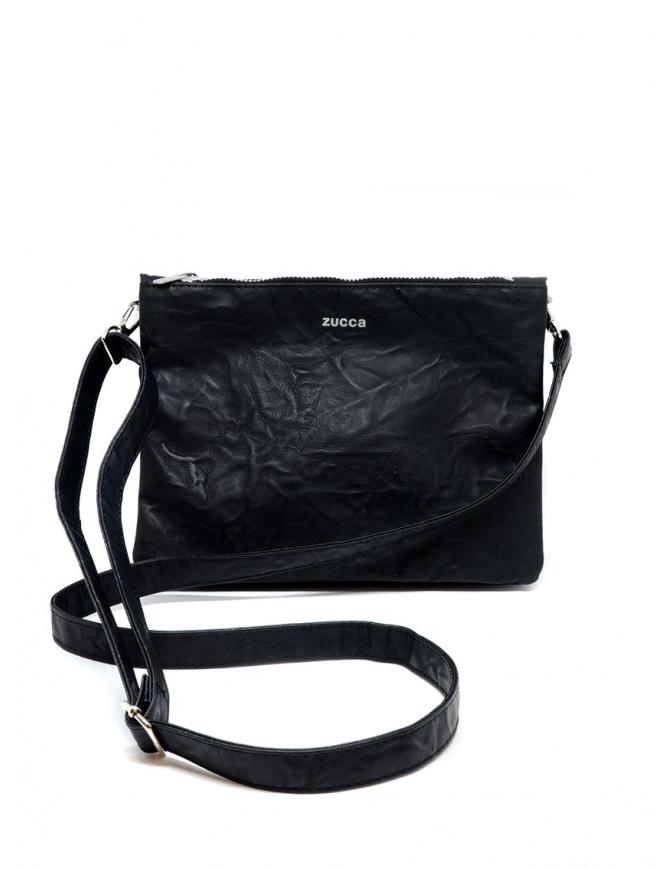 Borsa Zucca nera stropicciata ZU97AG146-26 BLACK borse online shopping