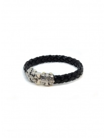 ElfCraft bracelet black leather Smith cross price