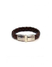 ElfCraft Plain bracelet in brown leather online