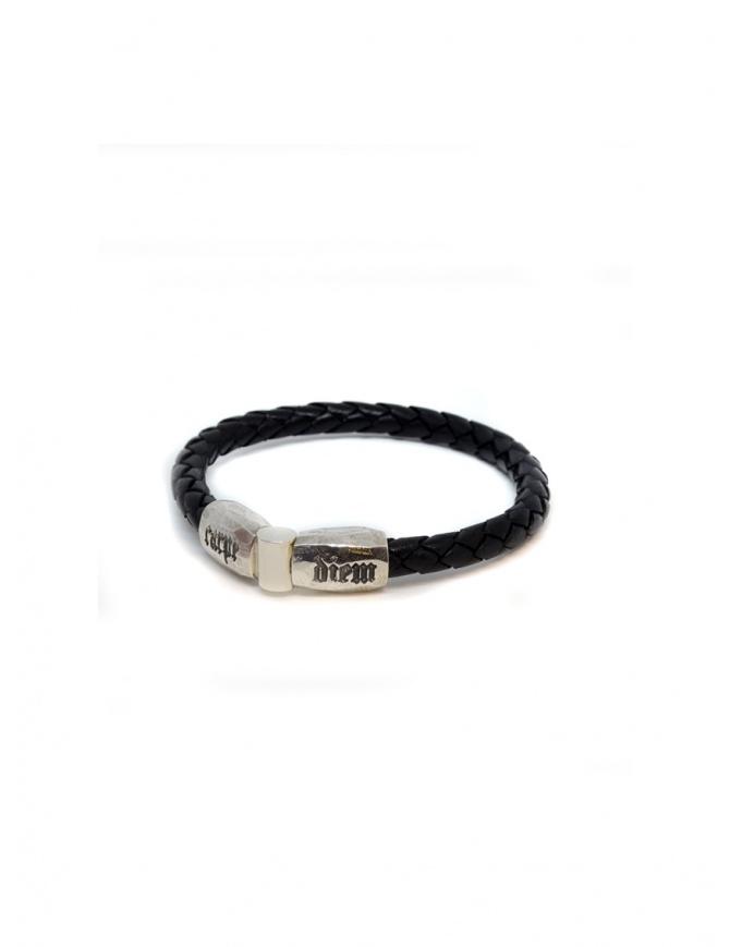 ElfCraft leather bracelet Carpe Diem DF219.CARPE.07FAC jewels online shopping