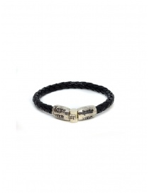 Elfcraft bracelet Love Me Hate Me in black leather price