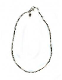 ElfCraft tubular silver neckchain