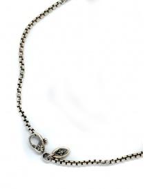 ElfCraft tubular silver neckchain 588.2