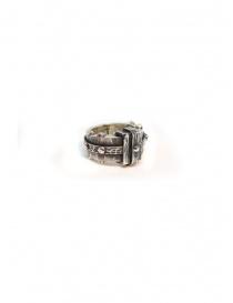 Anello ElfCraft in argento sfaccettato rettangolare 802.135.14FAC order online
