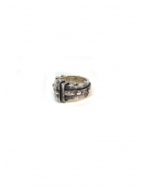 ElfCraft faceted silver rectangular ring price