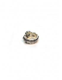 Anello ElfCraft in argento sfaccettato rettangolare preziosi acquista online