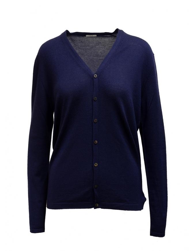 Cardigan Adriano Ragni cashmere blu 16 18 004 01 RG BLUE BL 01 maglieria uomo online shopping