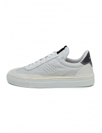 BePositive Roxy crumpled effect white sneakers