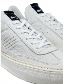 BePositive Roxy crumpled effect white sneakers mens shoes buy online