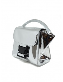 Zucca Small Buckle silver bag