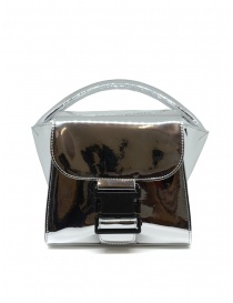 Borsa Zucca Small Buckle argento online