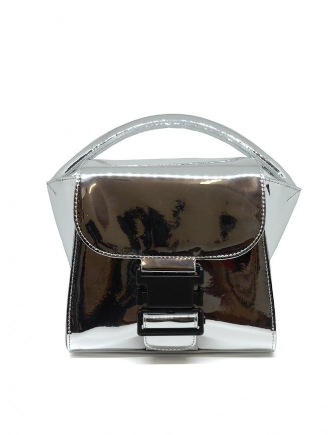 Borsa Zucca Small Buckle argento ZU99AG263 SILVER borse online shopping